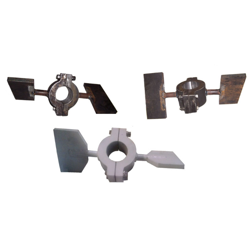 Fabricação Acoplamento com Pás do Misturador Metalúrgica Riograndense