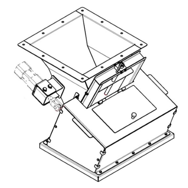 Fabricação Corta Fluxo Metalúrgica Riograndense