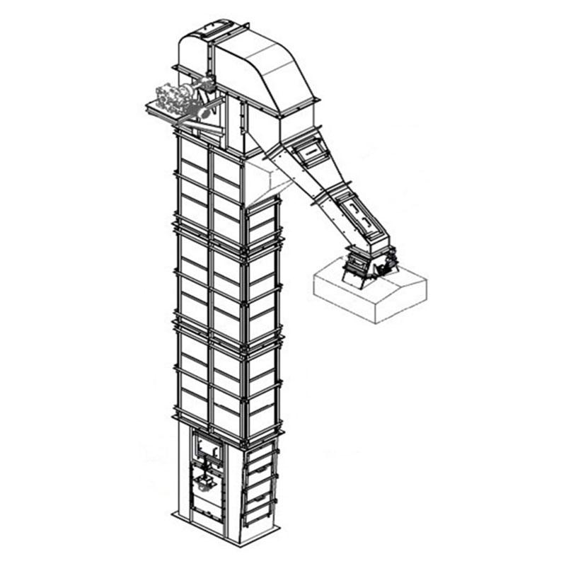 Fabricação Elevador de Caçambas Metalúrgica Riograndense