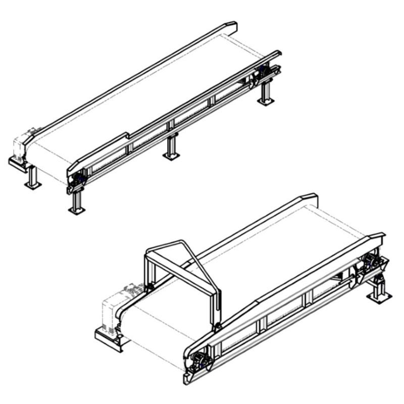 Fabricação Esteira Transportadora Metalúrgica Riograndense