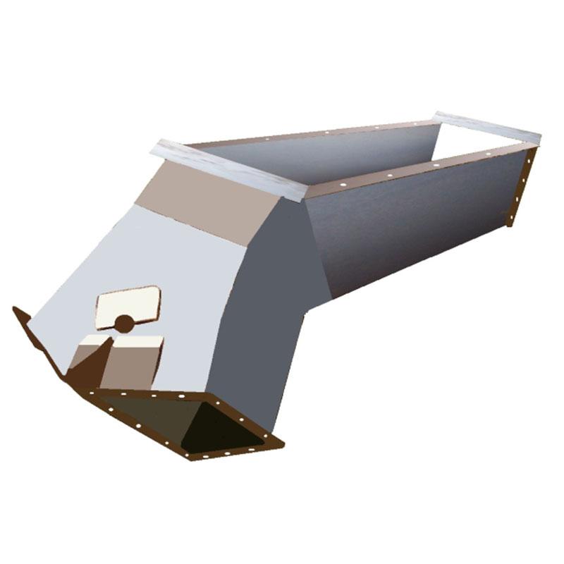 Fabricação Flap Duplo em Aço Carbono Metalúrgica Riograndense