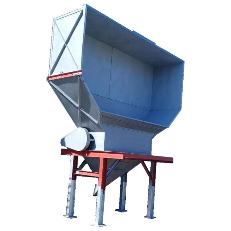 Fabricação Moega de Armazenamento Metalúrgica Riograndense
