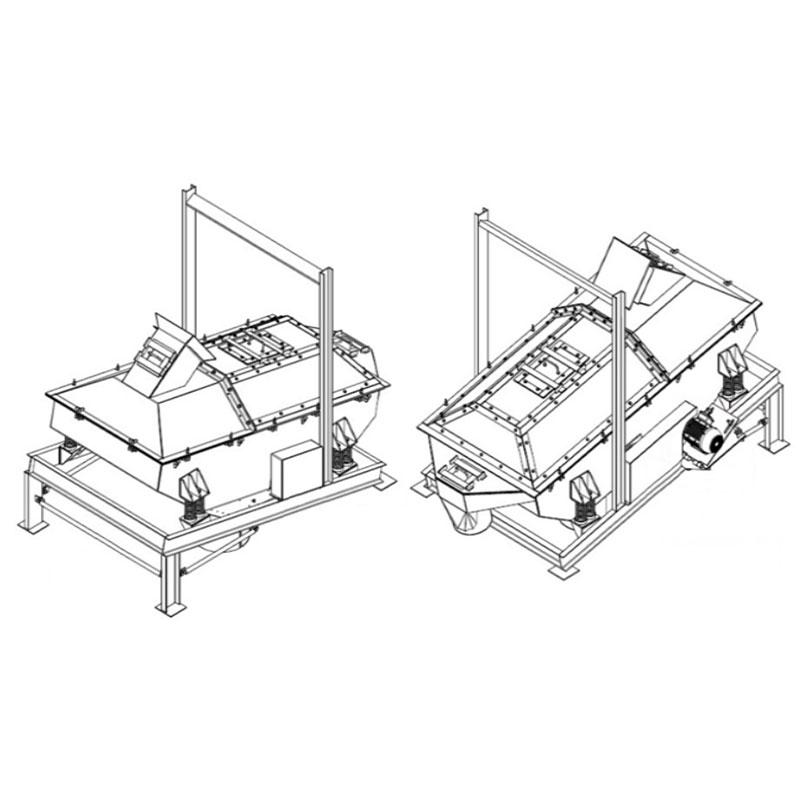 Fabricação Peneira Vibratória Metalúrgica Riograndense