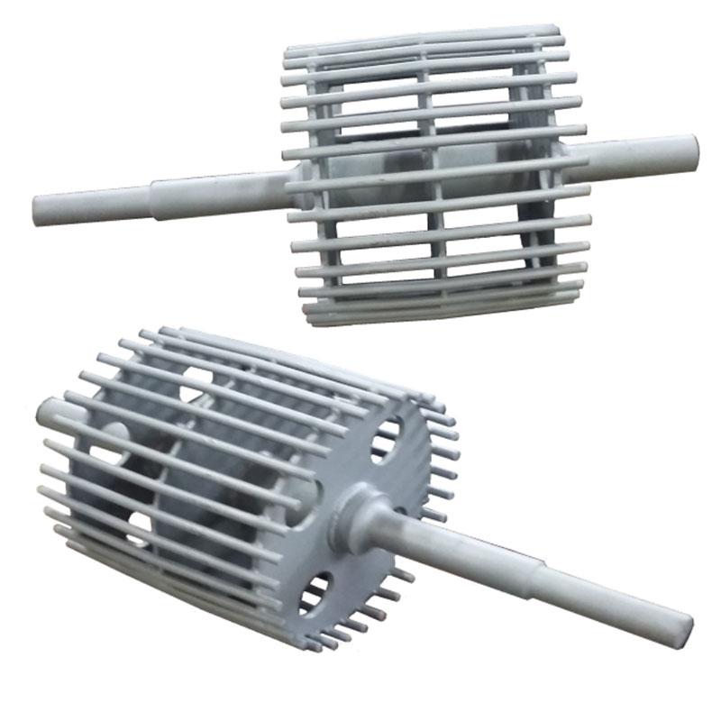 Fabricação Rolo do Elevador com Barras Paralelas Metalúrgica Riograndense