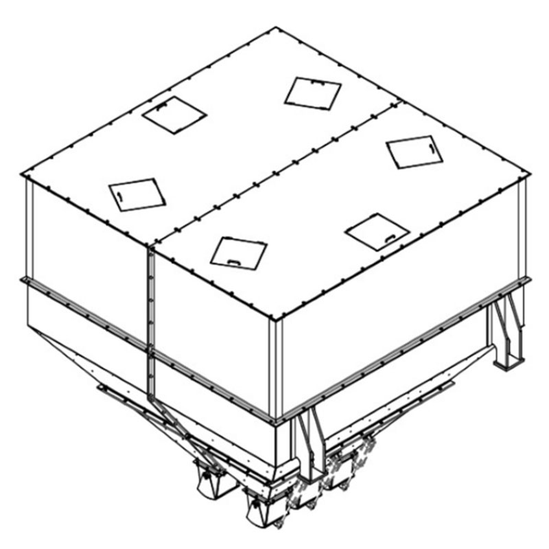 Fabricação Silo de Mistura Metalúrgica Riograndense