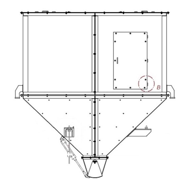 Fabricação Silo do BIG BAG Metalúrgica Riograndense
