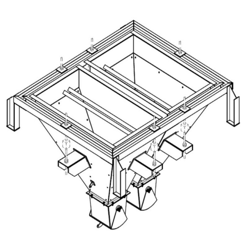 Fabricação Balança Bi-Partida Metalúrgica Riograndense